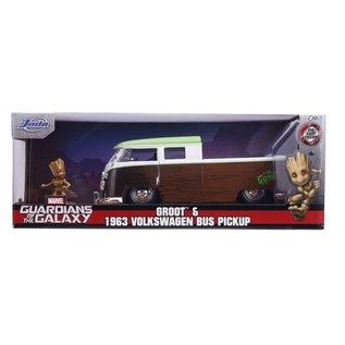 JADA TOYS JAD 31202 HOLLYWOOD RIDERS 1963 VW WITH GROOT