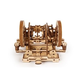 UGEARS UGR 70132 STEM LAB DIFFERENTIAL WOOD KIT 163 PARTS