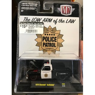 M2 M2 31500-HS08 1976 CHEVROLET SCOTTSDALE POLICE PATROL THE LOW ARM OF THE LAW