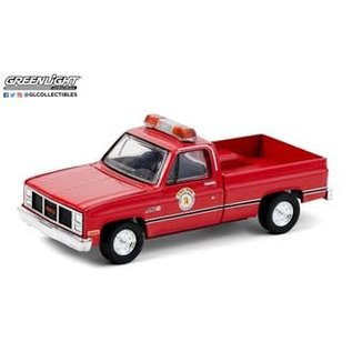 GREENLIGHT COLLECTABLES GLC 30213 1987 GMC HIGH SIERRA ILLINOIS PUBLIC WORKS