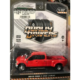 GREENLIGHT COLLECTABLES GLC 46050-E 2019 Ford F-350 LARIAT DUALLY DRIVERS SERIES 5