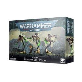 GAMES WORKSHOP WAR 99120110053 NECRONS OPHYDIAN DESTROYERS
