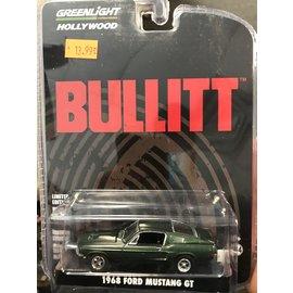 GREENLIGHT COLLECTABLES GLC 44721 BULLITT 1/64 1968 FORD MUSTANG GT
