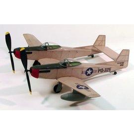 """Dumas DUM 206 F-82 Twin Mustang,17.5""""Rubber Power"""