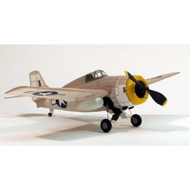 "Dumas DUM 207 F-4F Wildcat,17.5"" Rubber Power"