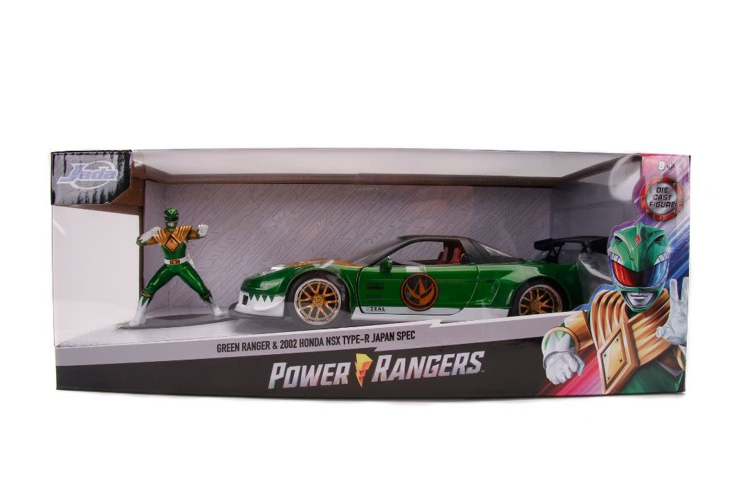 Jad 31909 Green Ranger 2002 Honda Nsx Type R Japan Spec 1 24 Diecast The Zoom Room Rc Toys And Hobbies