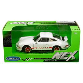 WELLY WEL 24086W-WH 1973 PORSCHE 911 CARRERA RS 2.7 WHITE