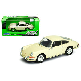 WELLY WEL 24087W-CRM 1964 PORSCHE 911 CREAM