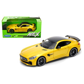 WELLY WEL 24081W-YL MERCEDES BENZ AMG GT R YELLOW