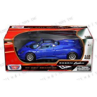 MOTOR MAX MM 73147BL PAGANI ZONDA C12 BLUE 1/18 DIECAST