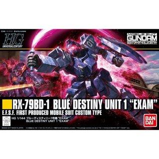 BANDAI BAN 5058268 RX-79BD-1 BLUE DESTINY UNIT 1 EXAM