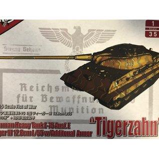 MODELCOLLECT MDC UA35016 GERMAN HEAVY TANK TIGERZAHN 1/35 MODEL KIT