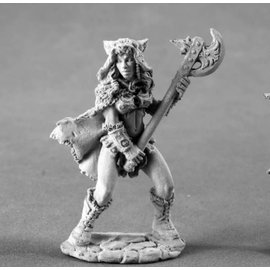 REAPER REA 04008 KYRIE FEMALE BARBARIAN METAL FIGURE