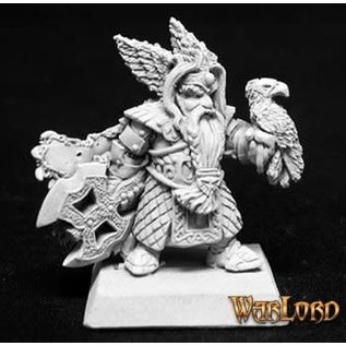 REAPER REA 14042 KING THORGRAM DWARF WARLORD METAL FIGURE