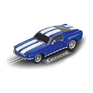 CARRERA CAR 20064146 Ford Mustang 67 RACING BLUE GO SYSTEMS
