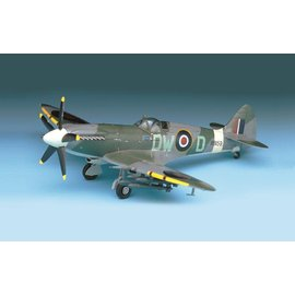 Academy/Model Rectifier Corp. ACA 12484 1/72 Spitfire Mk.XIV-C MODEL KIT