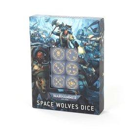 GAMES WORKSHOP WAR 99220101022 SPACE WOLVES DICE