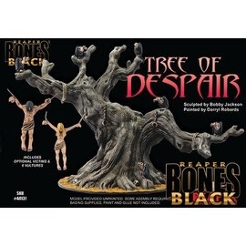 REAPER REA 44131 TREE OF DESPAIR - BONES BLACK DELUX BOXED SET