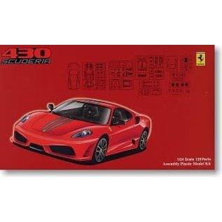 FUJ 123363 1/24 Ferrari F430 Scuderia w/Detail Parts