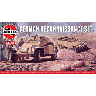 AIRFIX AIR 02312V GERMAN RECONNAISSANCE SET 1/76 MODEL KIT