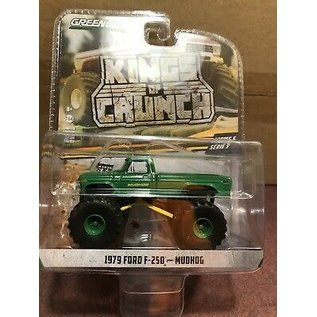 GREENLIGHT COLLECTABLES GLC 49050 KINGS OF CRUNCH SERIES 5 MUDHOG 1979 FORD F250