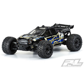 TRAXXAS PRO 352817 PRE-CUT 2017 FORD RAPTOR CLEAR BODY FOR RUSTLER 4X4