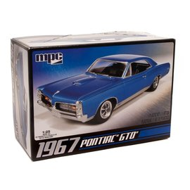 MPC MPC 710L/12 1/25 '67 Pontiac GTO 1/25 MODEL KIT