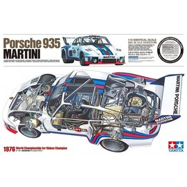 TAMIYA TAM 12057 PORSCHE 935 MARTINI BIG SCALE SERIES 1/12
