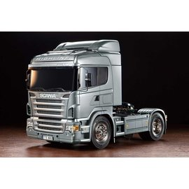 TAMIYA TAM 56364 SCANIA R470 HIGHLINE (PRE-PAINTED SILVER BODY COMPONENTS)