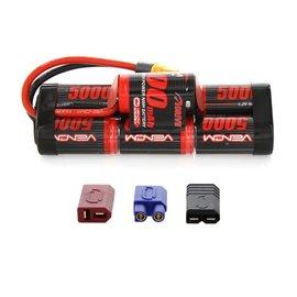 Venom Racing VEN 1548-7 DRIVE 8.4V 5000mAh NiMH Hump Pack Battery with UNI 2.0 Plug
