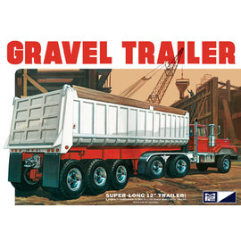 MPC MPC 823 3 AXLE GRAVEL TRAILER 1/25 MODEL KIT