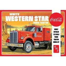AMT AMT 1160 1/25 White Western Star Semi Tractor, Coca-Cola
