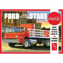 AMT AMT 1147 1/25 Ford C600 Stake Bed w/Coca-Cola Machine