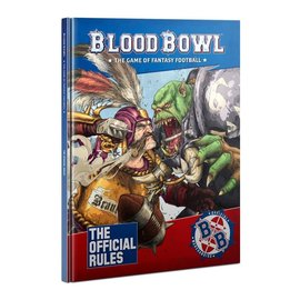 GAMES WORKSHOP WAR 60040999021 BLOOD BOWL THE OFFICIAL RULES