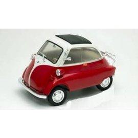 WELLY WEL 24096W-RD BMW ISETTA RED/WHITE