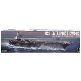 REVELL USA REV 850325 USS ENTERPRISE CVN-65 NUCLEAR POWERED ATTACK AIRCRAFT CARRIER KIT