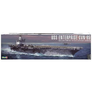 REVELL USA REV 850325 USS ENTERPRISE CVN-65 NUCLEAR POWERED ATTACK AIRCRAFT CARRIER KIT