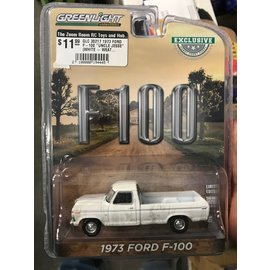 """GREENLIGHT COLLECTABLES GLC 30217 1973 FORD F-100 """"UNCLE JESSE"""" (WHITE - WEATHERED)"""
