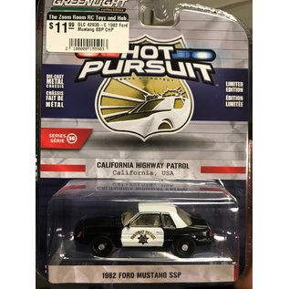 GREENLIGHT COLLECTABLES GLC 42930-C 1982 Ford Mustang SSP CHP 1/64 DIECAST