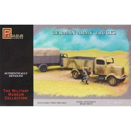 PGH PGH 7610 GERMAN TRUCK 1/72 MODEL KIT ( 2 TRUCKS)
