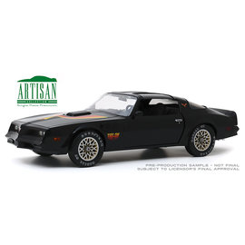 "GREENLIGHT COLLECTABLES GLC 19080 1977 PONTIAC FIREBIRD T/A ""FIRE AM"" 1/18 SCALE"