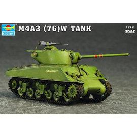TRUMPETER TRU 07226 M4A3 (76)W TANK KIT 1/72 model