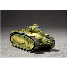 TRUMPETER TRU 07263 1/72 French Char B1 Heavy Tank KIT