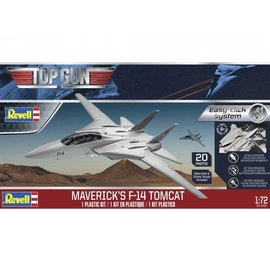 REVELL USA RMX 851268 1/72 F14 Tomcat Top Gun Classic