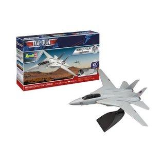 REVELL GERMANY REV 64996 MODEL SET MAVERICK'S  F-14 TOMCAT SNAP KIT WITH PAINTS