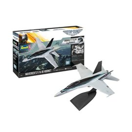 REVELL GERMANY REV 64965 MODEL SET MAVERIK'S F/A-18 HORNET