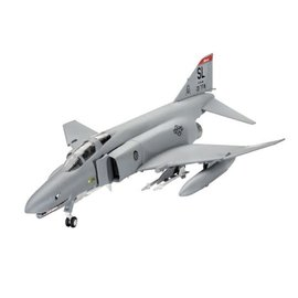 REVELL GERMANY REV 63651 MODEL SET F-4 PHANTOM SNAP KIT WITH PAINTS