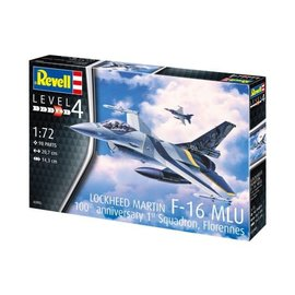 REVELL GERMANY REV 63905 COMPLETE MODEL SET 1/72 Lockheed Martin F-16 MLU 100TH ANNIVERSARY 1ST SQUADRON FLORENNES