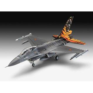 REVELL GERMANY REV 63860 COMPLETE MODEL SET 1/72 Lockheed Martin F-16 MLU TIGER MEET 2018