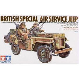 TAMIYA TAM 35033 1/35 British Special Air Service Jeep MODEL KIT